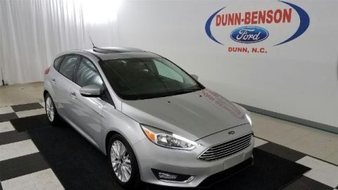 Pre-Owned 2015 Ford Focus Titanium FWD 4D Hatchback