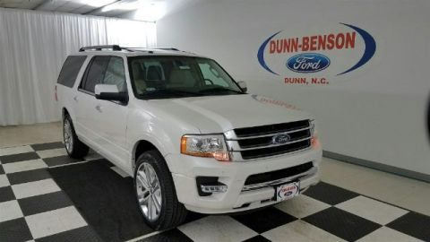 New 2017 Ford Expedition EL Limited RWD 4D Sport Utility