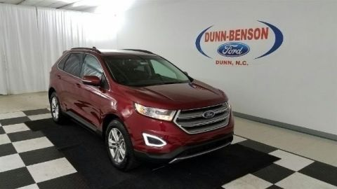 New 2017 Ford Edge SEL FWD 4D Sport Utility