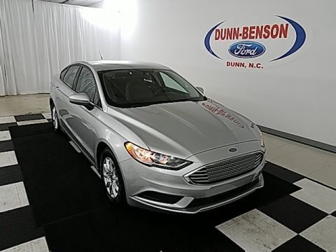 Pre-Owned 2017 Ford Fusion S FWD 4D Sedan