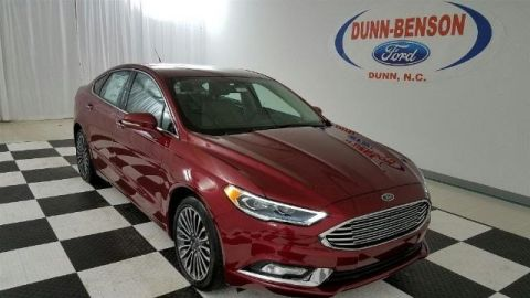 New 2017 Ford Fusion SE FWD 4D Sedan