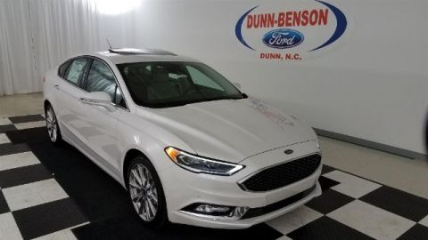 New 2017 Ford Fusion Titanium FWD 4D Sedan