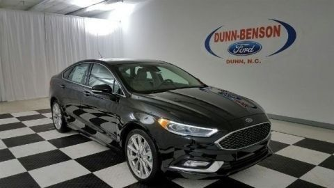 New 2017 Ford Fusion Platinum With Navigation